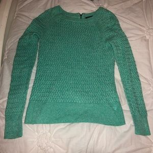 Teal American Eagle Sweater